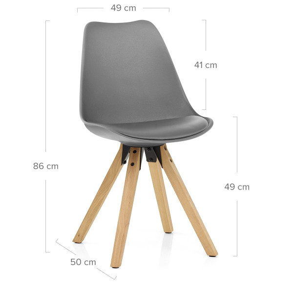 Aero Dining Chair Faux Leather